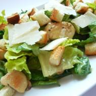 Pravý salát Caesar recept