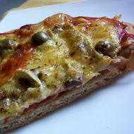 Pizza s pražskou šunkou recept