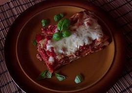 Lasagne zapečené s rajčaty a mletým masem recept