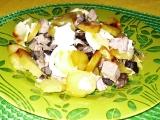 Brambory zapékané s houbami recept