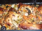 Kuře se zeleninou a houbami recept