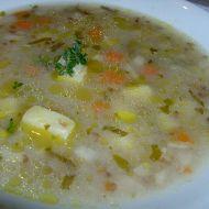 Pohanková polévka recept