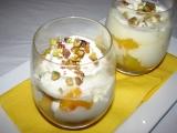 Mango s devonshirským krémem recept