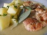 Kuřecí s bylinkovo česnekovou omáčkou recept