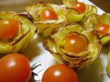Bramborovo-sýrové růžičky recept