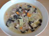 Kyselá pekingská polévka s Jidášovým uchem recept