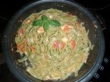 Těstoviny s mozzarelou recept