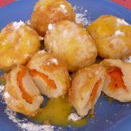 Meruňkové knedlíky z bramborového těsta recept
