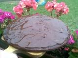 Kakaový koláč s pomerančovou šťávou recept