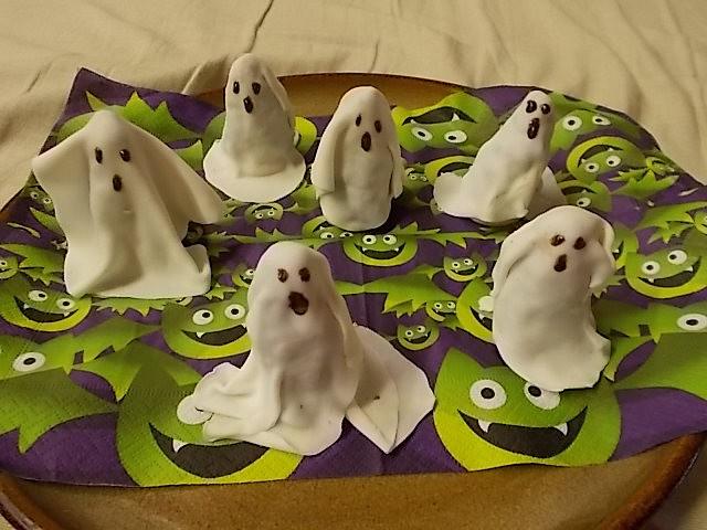 Halloweenská strašidýlka recept