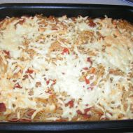 Rychlé zapečené špagety recept
