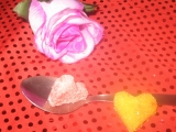 Srdíčka z cukru recept