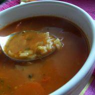 Rajská polévka s mrkví a rýží recept