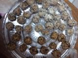 Ovesné kuličky se sušeným ovocem recept