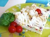 Těstovinový koláč se zeleninou recept