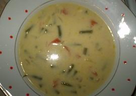 Fazolkovo  smetanová polévka recept