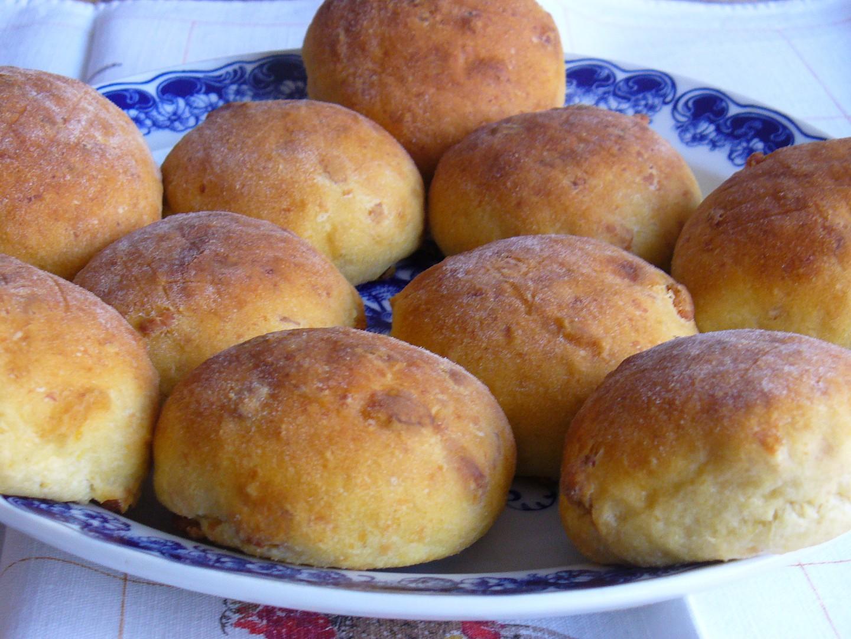 Škvarkovo  bramborové bochánky recept