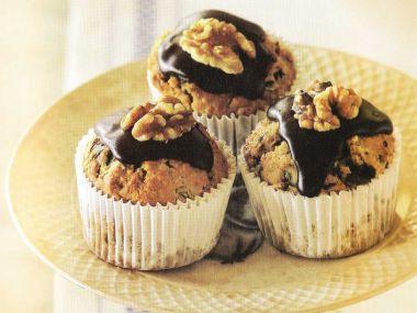 Čokoládové mufiny s cukinou