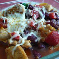 Kuřecí chilli s fazolemi recept