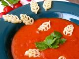 Tomatová polévka s těstovinami recept