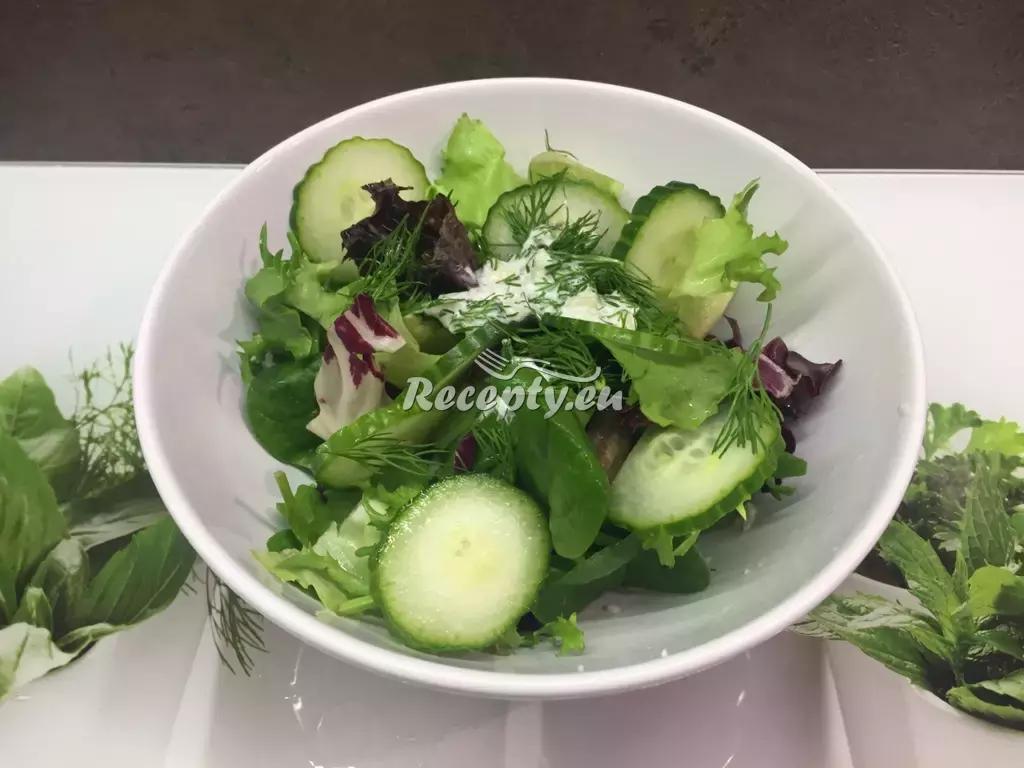 Císařský salat recept  saláty