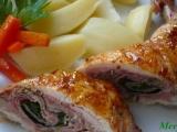 Kuřecí stehna plněná šunkou a špenátem recept