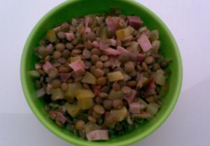 Čočka na kyselo  salát
