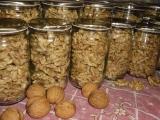 Zavařování ořechových jader recept