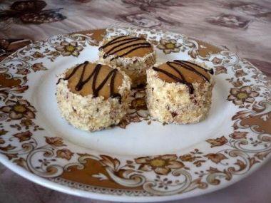 Famózní ořechové dortíčky