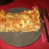 Lasagne s mletým masem a zeleninou recept