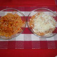 Omáčka na špagety s cuketou a rajčaty recept
