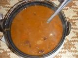 Zelňačka s fazolemi a klobásou recept
