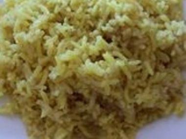 Obarvená rýže