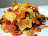 Pečená zelenina s citronovým olejem recept