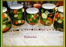 Zavařené okurky + nálev recept