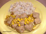 Tempeh na cibulce s oříškovou rýží recept