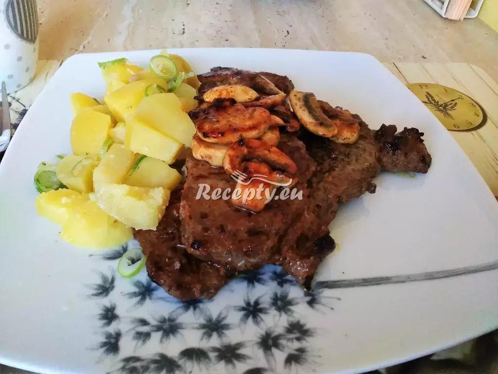 Nedělní kotlety recept  vepřové maso