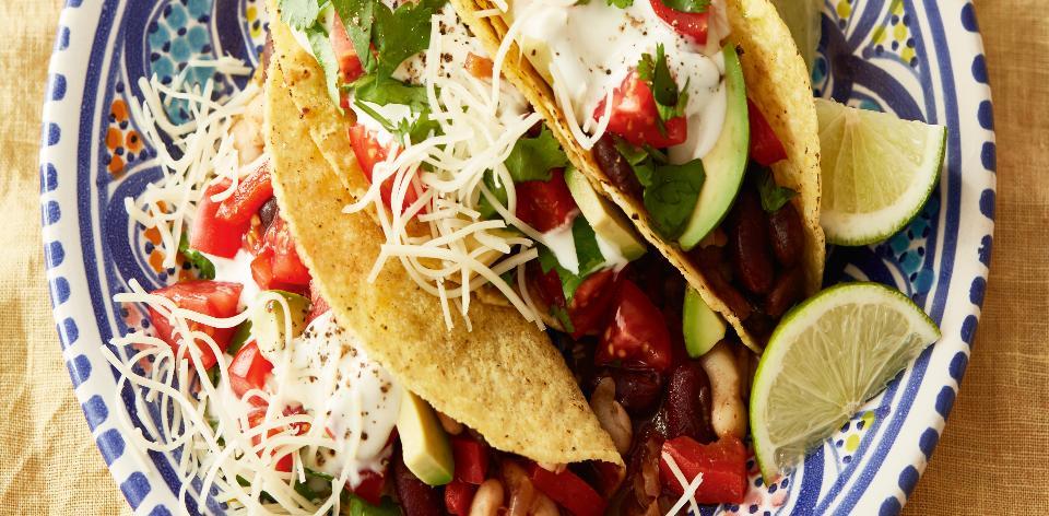 Fazolové tacos