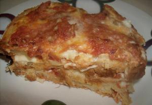 Chlebové lasagne