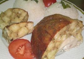 Pečené plněné kuře recept