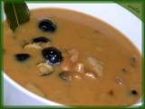 Smetanová houbovo-fazolová polévka recept