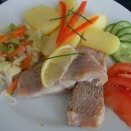 Mořská ryba Claresse s teplou zeleninou a brambory recept  Vareni ...