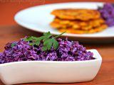 Zelný salát s bílým jogurtem recept