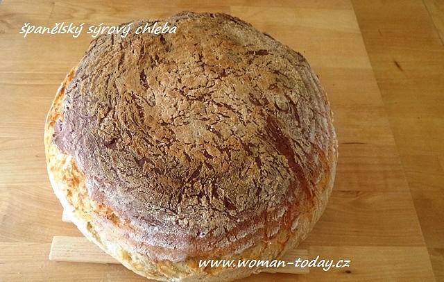 Španělský sýrový chleba podle mámy Korcové recept