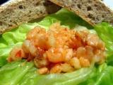 Krevety na česneku a másle recept