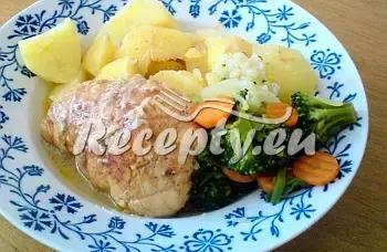 Plněné kuřecí kapsy recept  recepty pro pomalý hrnec