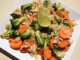 Asijská kokosová rýže se zeleninou recept