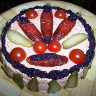 Klobáskový dort recept