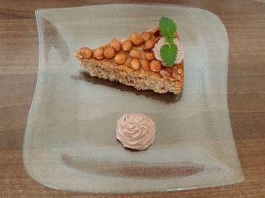 Zdravý ořechový koláč