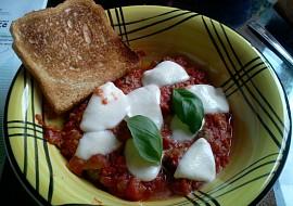 Zapečené masové koule  italská trikolora recept